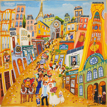 Wedding in Paris - Michal Meron Art Gallery free shipping on all items