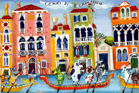 I Cani del Cannaregio *free shipping on all items* - Michal Meron Art Gallery free shipping on all items