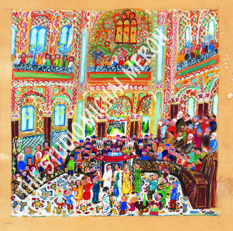 Florence wedding | European Synagogues *free shipping on all items* - Michal Meron Art Gallery free shipping on all items