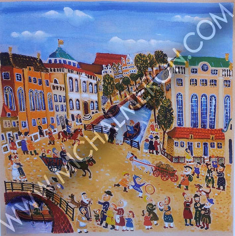 Amsterdam Out | European Synagogues *free shipping on all items* - Michal Meron Art Gallery free shipping on all items