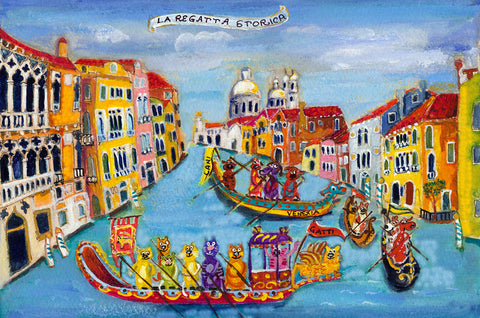 La regatta storica *free shipping on all items* - Michal Meron Art Gallery free shipping on all items