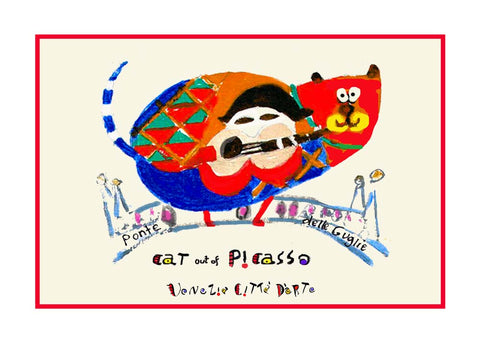 NEW! Cat Out Of Picasso / Ponte Delle Guglie - Artistic Caz By Michal Meron