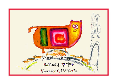 NEW! Cat Out Of Rothko / Ponte Chiodo - Artistic Caz By Michal Meron