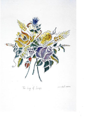 Micrography The Song Of Songs Paper Print Open Edition - Size: 9in x 6in
