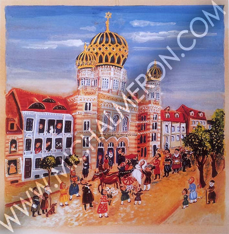 Berlin Wedding | European Synagogues *free shipping on all items* - Michal Meron Art Gallery free shipping on all items