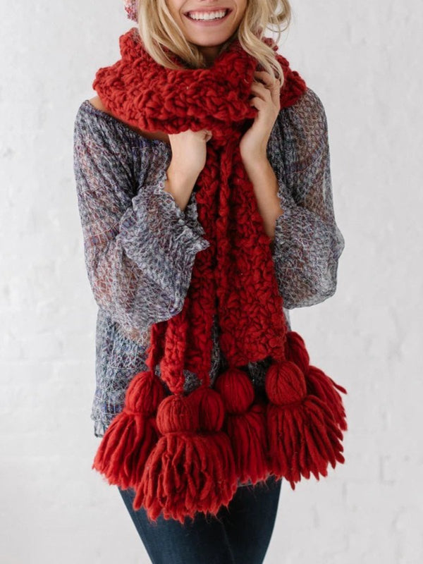 Beautiful Tassel Scarf