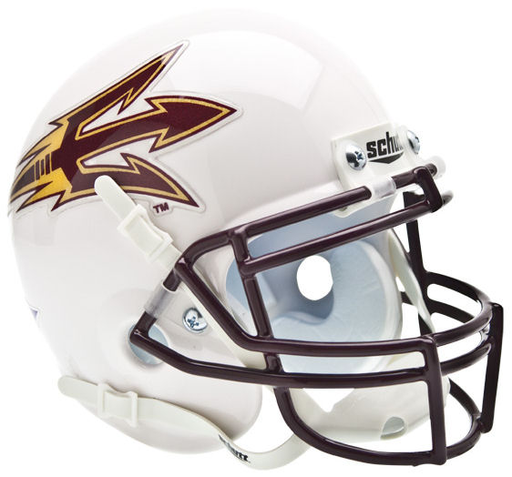Arizona State Sun Devils White Schutt XP Mini Helmet - White