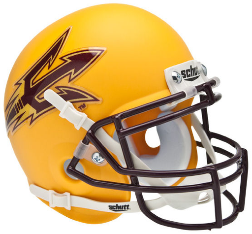 Arizona State Sun Devils Schutt XP Mini Helmet - Matte Gold