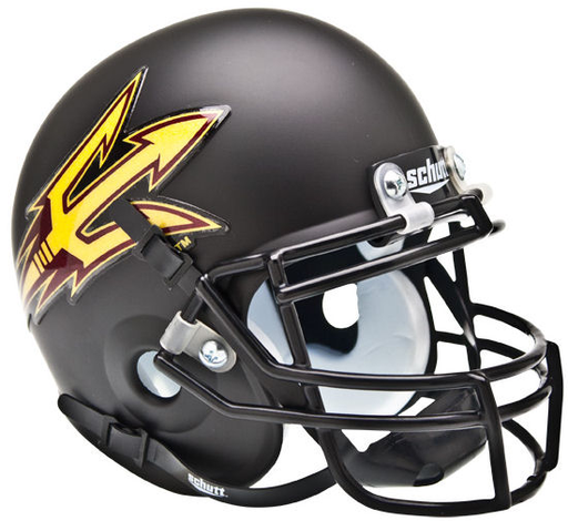 Arizona State Sun Devils Schutt XP Mini Helmet - Matte Black
