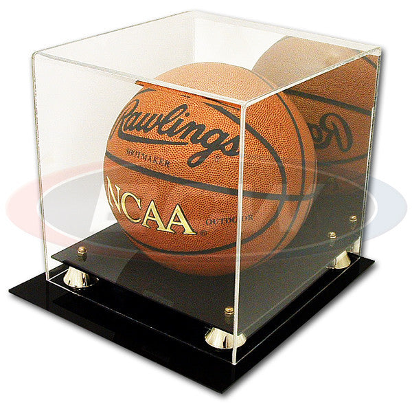 BCW Deluxe Acrylic Basketball Display Case with Mirror