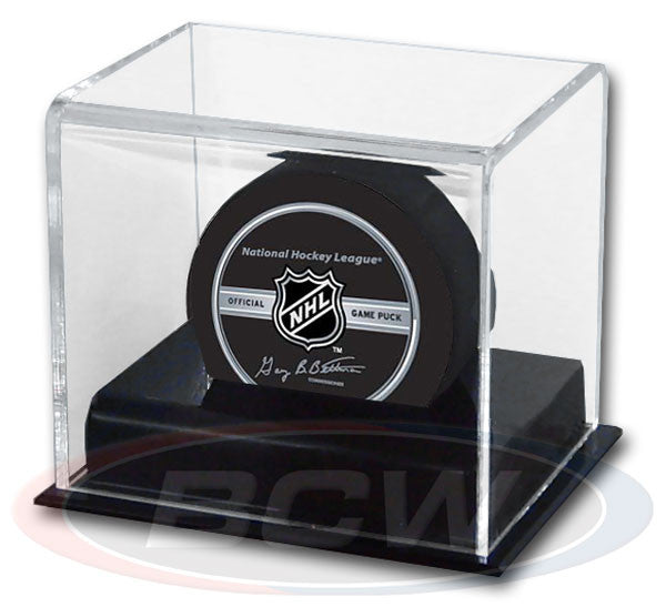 BCW Deluxe Acrylic Hockey Puck Display Case