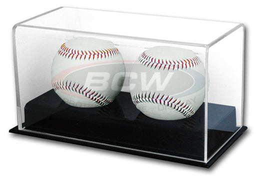 BCW Deluxe Acrylic Double Baseball Display Case