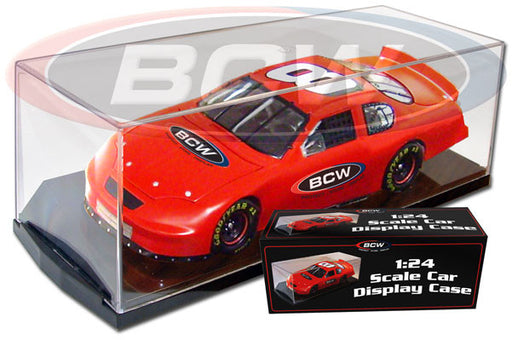 BCW Die Cast Car Display Case - 1:24 Scale