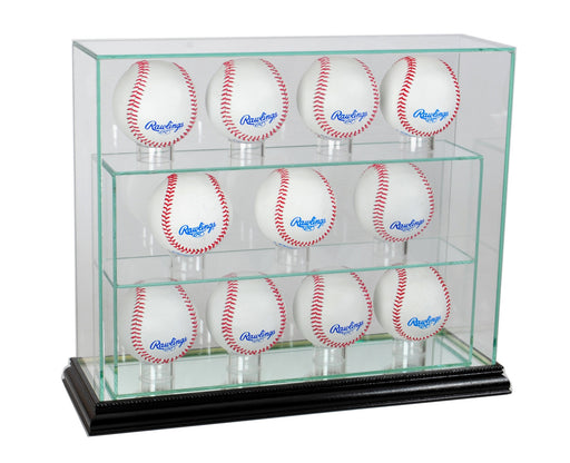 11 Vertical Baseball Display Case