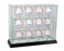 12 Vertical Baseball Display Case