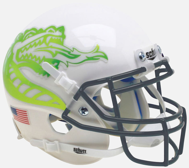 Alabama-Birmingham (UAB) Blazers Schutt XP Mini Helmet - Chrome Dragon