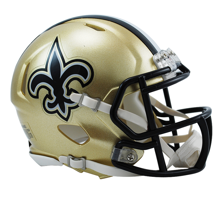New Orleans Saints Riddell Mini Speed Helmet