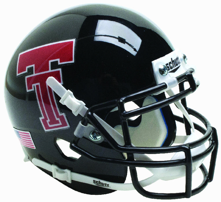 Texas Tech Red Raiders Schutt XP Mini Helmet - Black