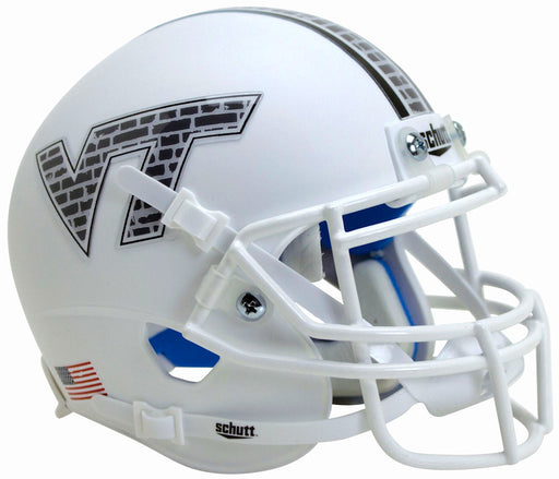 Virginia Tech Hokies Schutt XP Mini Helmet - White Brick