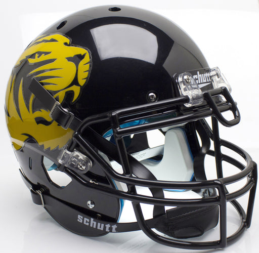 Missouri Tigers Authentic Schutt XP Full Size Helmet - Large Tiger Alt 4