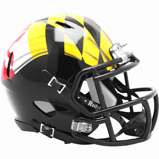 Maryland Terrapins Riddell Mini Speed Helmet - Pride