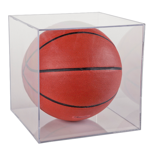 Basketball Clear Square 2-Piece Display Case