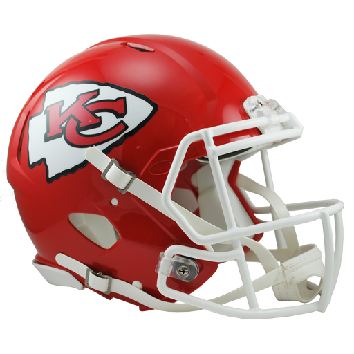 Kansas City Chiefs Authentic Full Size Speed Helmet