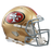 San Francisco 49ers Authentic Full Size Speed Helmet