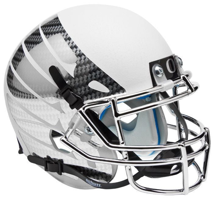 Oregon Ducks Replica Schutt XP Full Size Helmet - White Vapor
