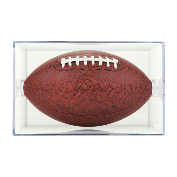 Football Clear Square 2-Piece Display Case