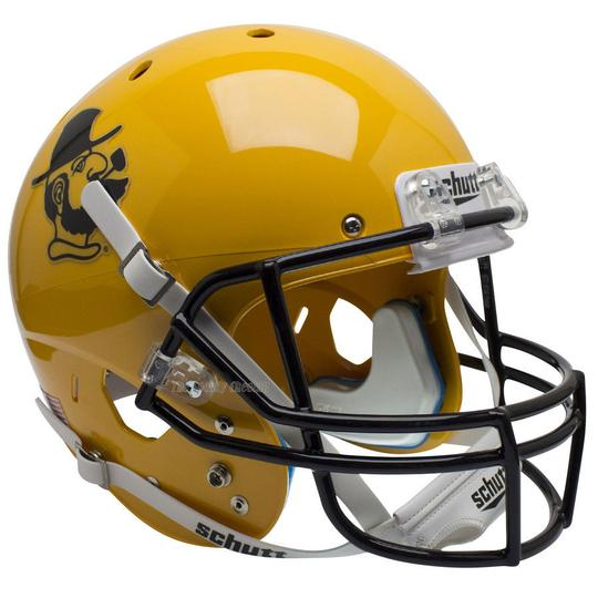 Appalachian State Mountaineers Replica Schutt XP Full Size Helmet - Yosef Yellow