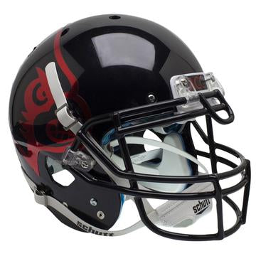 Louisville Cardinals Authentic Schutt XP Full Size Helmet - Black