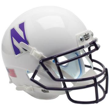 Northwestern Wildcats Replica Schutt XP Full Size Helmet - White