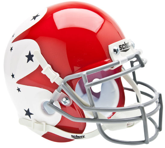 Air Force Falcons Schutt XP Mini Helmet - Stars