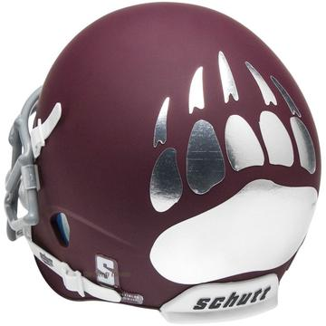 Montana Grizzlies Authentic Schutt XP Full Size Helmet - Matte Maroon