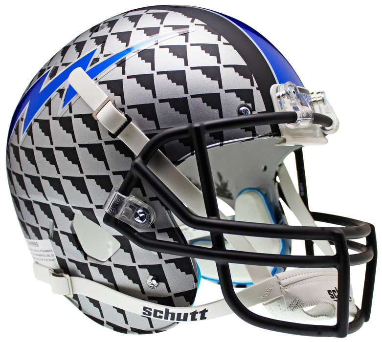 Air Force Falcons Replica Schutt XP Full Size Helmet - Bomber