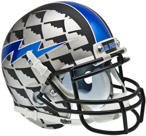 Air Force Falcons Schutt XP Mini Helmet - Bomber