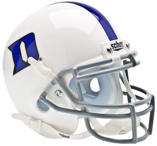 Duke Blue Devils Schutt XP Mini Helmet