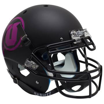 Utah Utes Authentic Schutt XP Full Size Helmet - Pink