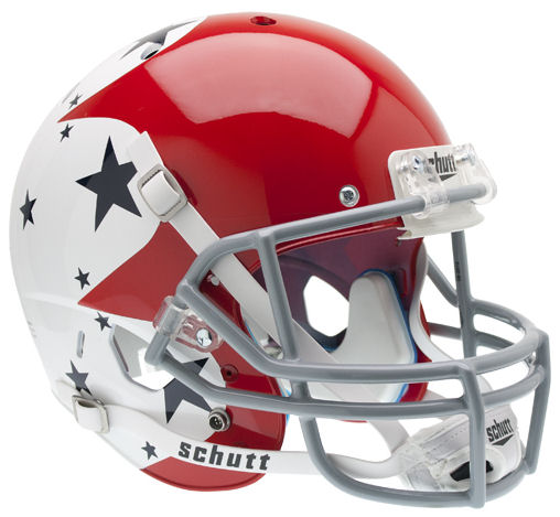 Air Force Falcons Replica Schutt XP Full Size Helmet - Stars