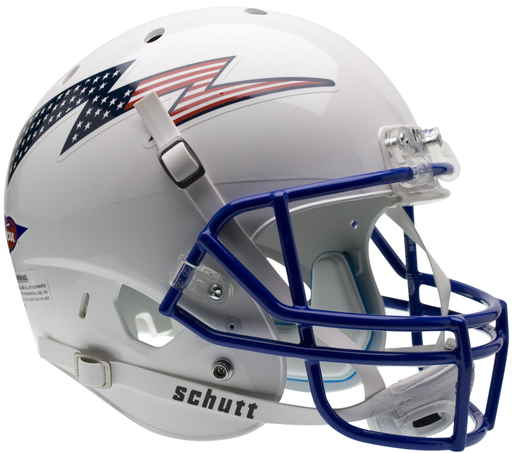 Air Force Falcons Replica Schutt XP Full Size Helmet - Flag Bolt
