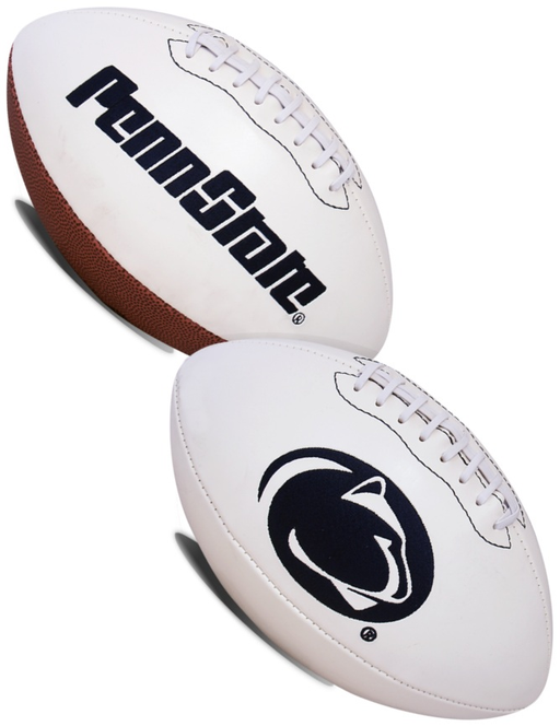 Penn State Nittany Lions NCAA White Panel Football