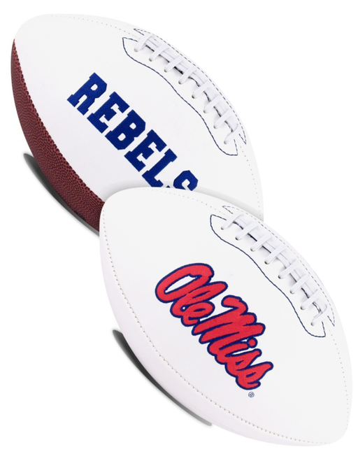 Mississippi (Ole Miss) Rebels NCAA White Panel Football