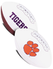 Clemson Tigers NCAA White Panel Football