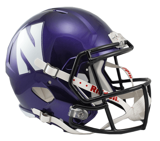 Northwestern Wildcats Replica Full Size Speed Helmet