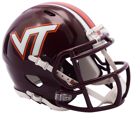 Virginia Tech Hokies Riddell Mini Speed Helmet