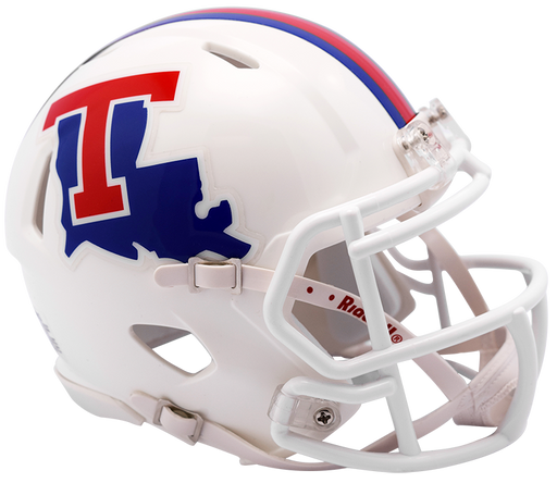 Louisiana Tech Bulldogs Riddell Mini Speed Helmet - White
