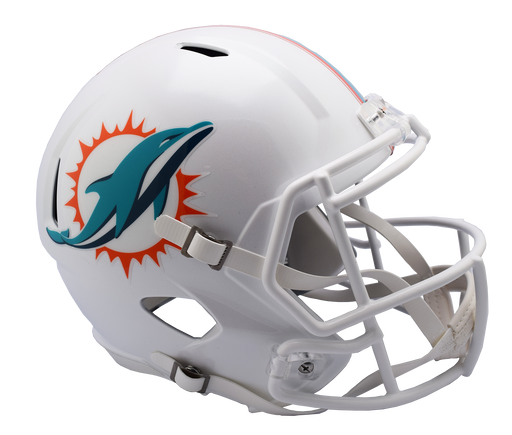 Miami Dolphins Replica Riddell Speed Full Size Helmet - 2018