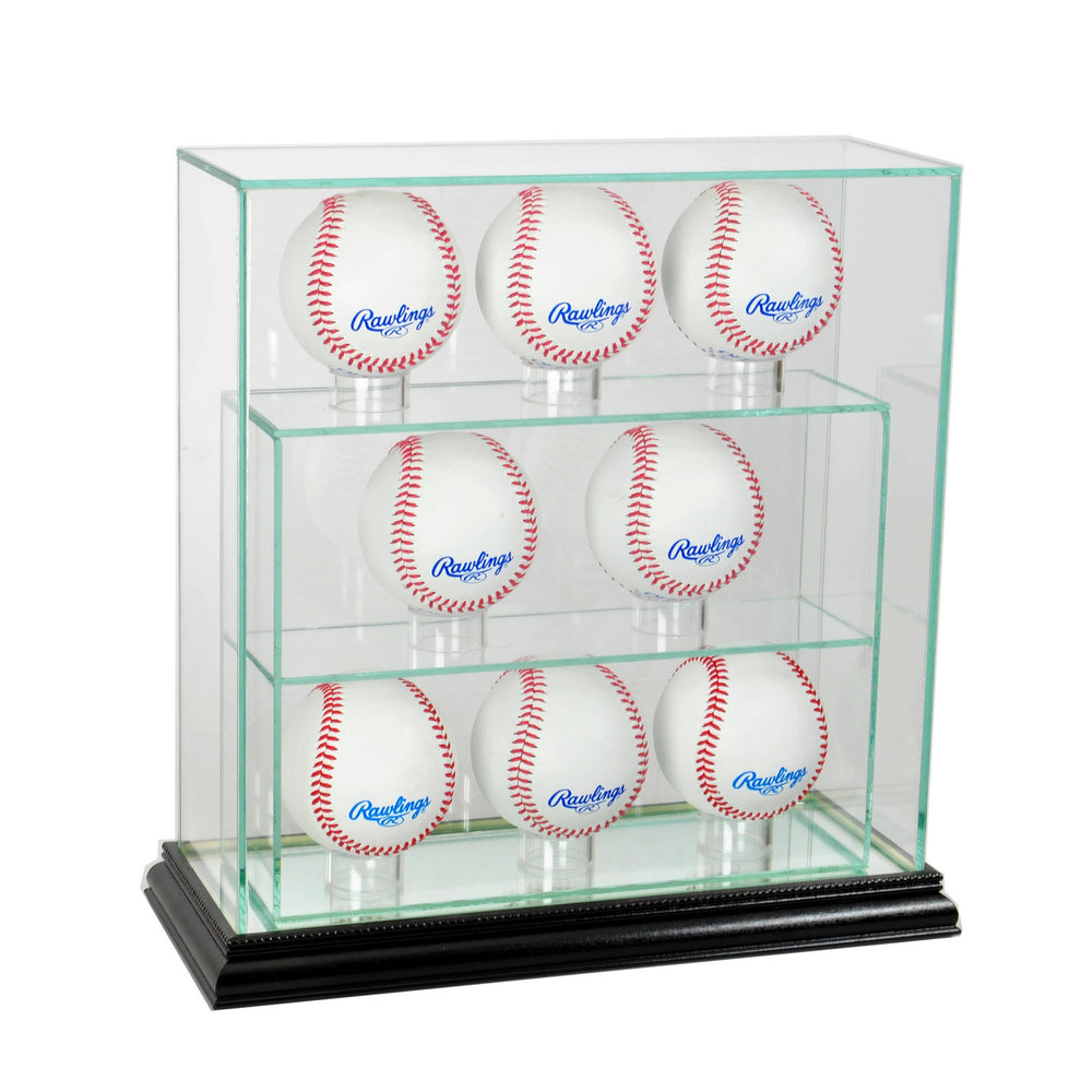 8 Vertical Baseball Display Case