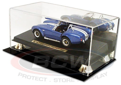 BCW Deluxe Acyrlic Die Cast Car Display Case with Mirror - 1:18 Scale